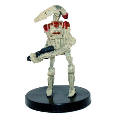 Star Wars Miniatures Clone Wars Starter 05/06 Security Battle Droid