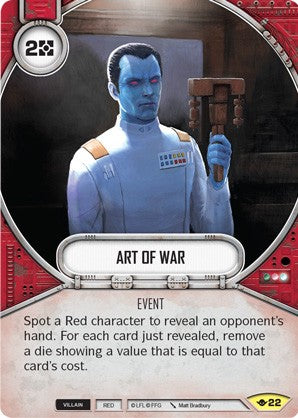Star Wars Destiny Way of the Force #22 Art of War