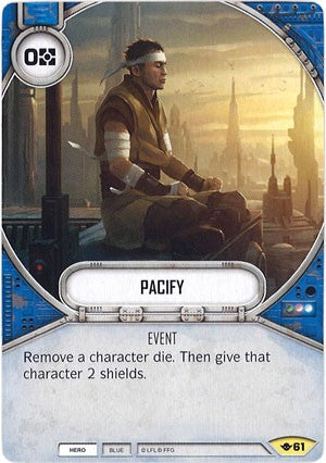 Star Wars Destiny Way of the Force #61 Pacify