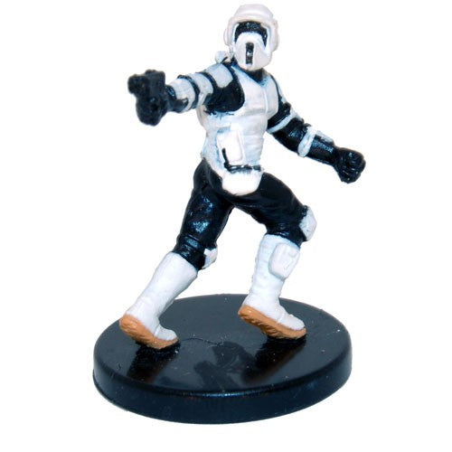 Star Wars Miniatures Attack on Endor 02/04 Scout Trooper