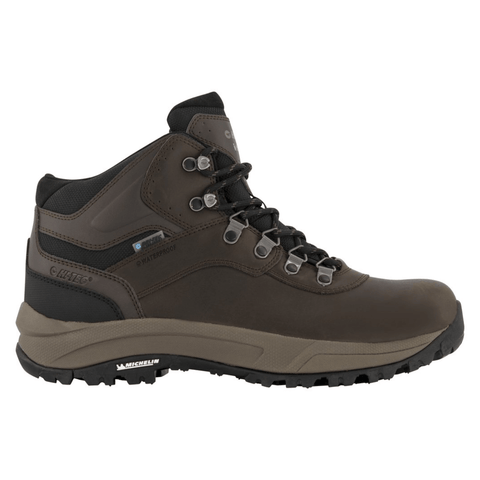 Hi-Tec Zapatos Hiking Altitude VI I Waterproof Dark Chocolate (Smooth Leather), para Hombre