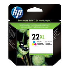 HP Cartucho de Tinta 22XL Tricolor (C9352CL)