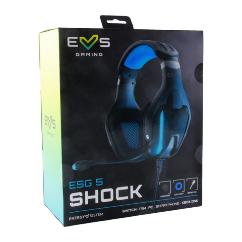Energy Sistem Audífonos Gaming, ESG 5Shock
