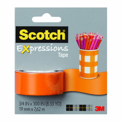 3M Cinta Masking Tape Removible Expressions 19mm x 7,62m