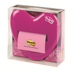 3M Dispensador de Post-It Pop-Up Corazón