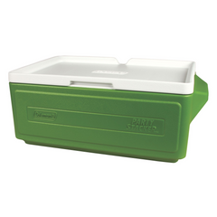 Coleman Hielera Apilable Party Stacker Verde, 23 QT / 24 Latas