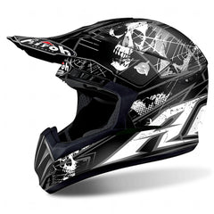 Airoh Casco Cross Switch Scary Black Matt M