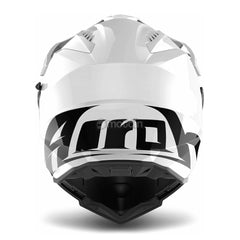 Airoh Casco Cross Twist Color White Gloss