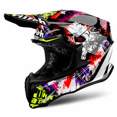 Airoh Casco Cross Twist Crazy Black Gloss