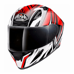 Airoh Casco Integral Valor Conquer Red Gloss