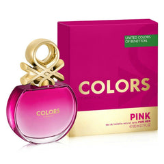 Benetton Perfume Benetton Colors Pink para Mujer, 80 ML