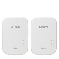 Linksys Extensor de Red Powerline PLEK500