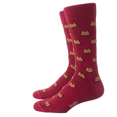 Bassto Socks Medias Casuales Red Fox