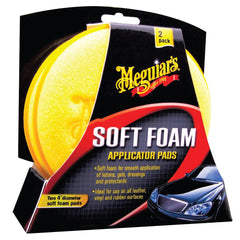 Meguiars Aplicador de Foam High Tech Applicator Pad, 2 Unidades