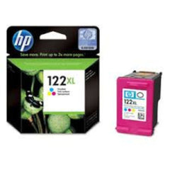 HP Cartucho de Tinta 122XL Color (CH564HL)