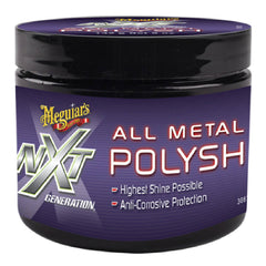 Meguiars Pulidor de Metales NXT Generation All Metal Polish, 142 gr