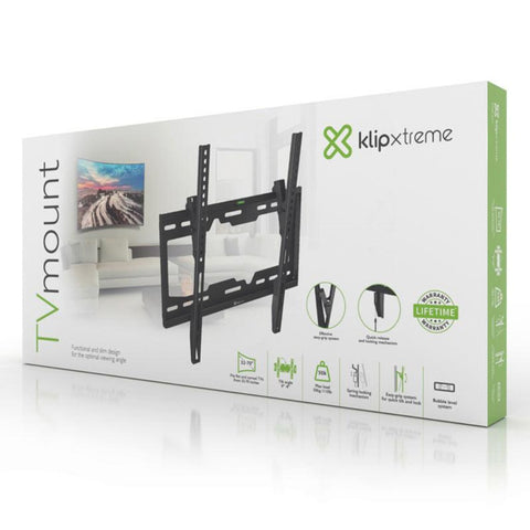 "Klip Xtreme Soporte Inclinable de Pared para Pantallas de 32"" a 70"""