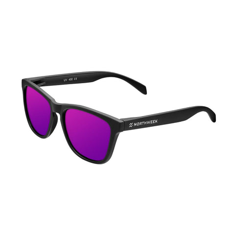 Northweek Lentes Casuales Regular Matte Black/Purple Polarized