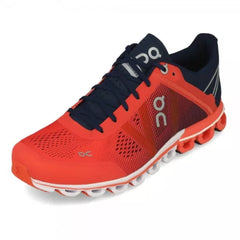 On Tenis Cloudflow Crimson/Midnight, para Mujer