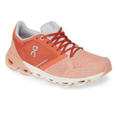 On Tenis Cloudflyer Ginger/White, para Mujer