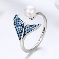 CR Charms Anillo Sirena