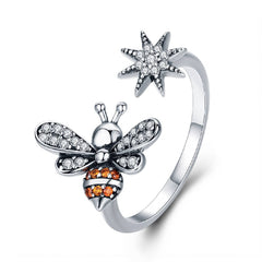 CR Charms Anillo Abeja