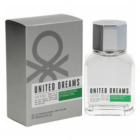Benetton Perfume United Dreams Aim High para Hombre, 100 ML