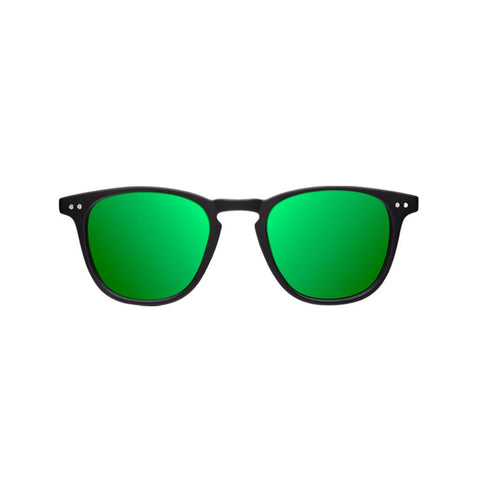 Northweek Lentes Casuales Wall Matte Black/Green Polarized