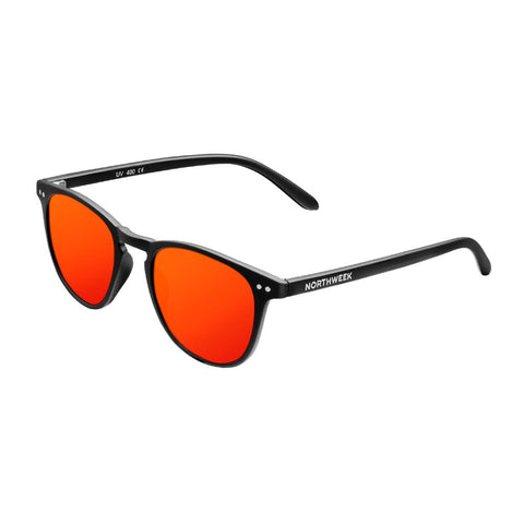 Northweek Lentes Casuales Wall Matte Black/Red Polarized
