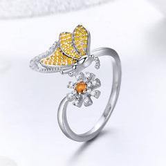 CR Charms Anillo Mariposa