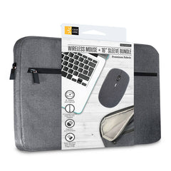 "Case Logic Funda para Laptop 16"" + Mouse Inalámbrico (CL-CB-SV-100-GY)"