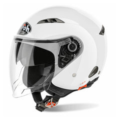 Airoh Casco Abierto City One Color White Gloss
