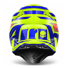 Airoh Casco Cross Twist Cairoli Qatar Yellow Gloss
