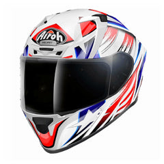 Airoh Casco Integral Storm Battle Red Gloss