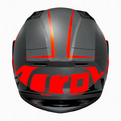 Airoh Casco Integral Valor Eclipse Orange Matt