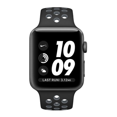 Apple Watch 42 mm Nike S3 A1859 + Space Gray Aluminum Case-Nike Sport Band