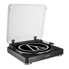 Audio-Technica Tornamesa Sistema de Audio para Discos de Acetato con Bluetooth (AT-LP60BK-BT)