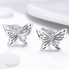 CR Charms Aretes Mariposa