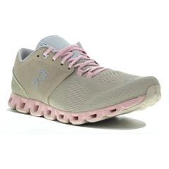 On Tenis Cloud X Sand/Rose, para Mujer