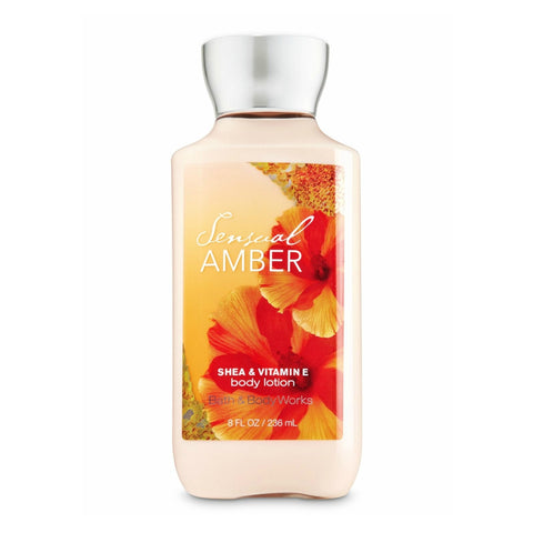 Bath & Body Works Crema Sensual Amber, 236 ML