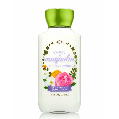Bath & Body Works Crema Sweet Magnolia And Clementine, 236 ML