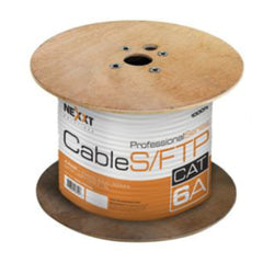 Nexxt Solutions Cable de Interconexión, Rollo de 304.8 Mts, SFTP, Cat6
