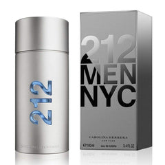 Carolina Herrera Perfume 212 Men NYC para Hombre, 100 ML