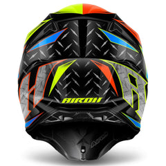 Airoh Casco Cross Twist Iron Orange Gloss