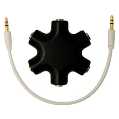 Centech Audio Splitter 3.5 mm, 5 Salidas