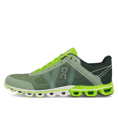 On Tenis Cloudflow Moss/Lime, para Hombre