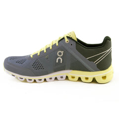On Tenis Cloudflow Smoke/Limelight, para Mujer
