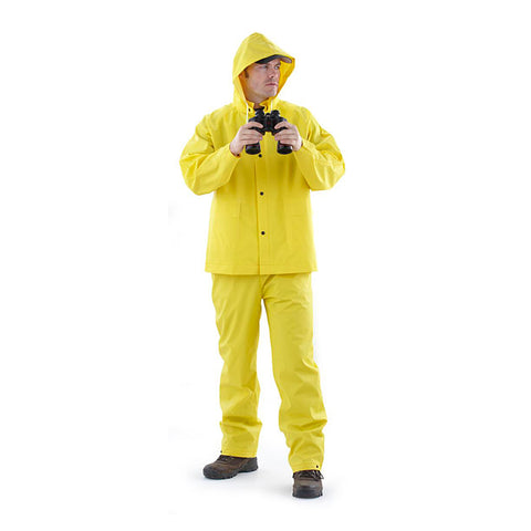 Coleman Impermeable Industrial Contra Lluvia Amarillo, 30mm