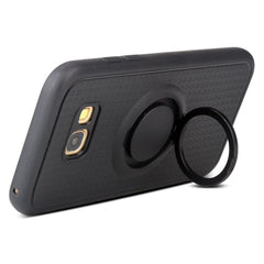Creative Case Estuche Silicon con Holder Anillo para Samsung A7 (2017)
