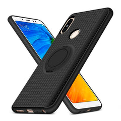 Creative Case Estuche Silicon con Holder Anillo para Xiaomi Mi A2 Lite